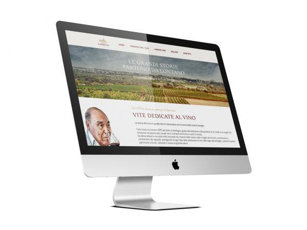 Realizzazione sito Vinicola Cherchi - RedfishAdv